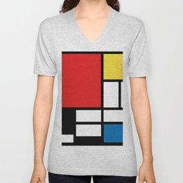 My Mondrian Unisex V-Neck