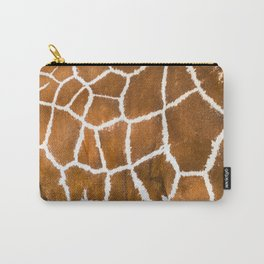 Giraffe skin close up illustration Carry-All Pouch