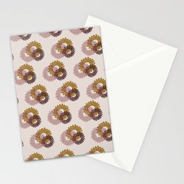 Flower Power surface pattern Stationery Cards