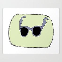 My favorite pair of sunglasses Art Print