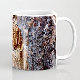 Burnt Wood Texture Coffee Mug