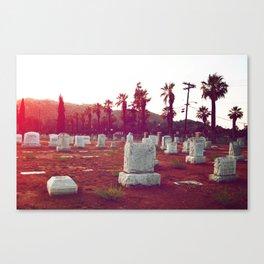 The death of California Canvas Print
