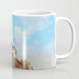 "Frederic Remington Western Art ""The Buck Jumper"" Coffee Mug"