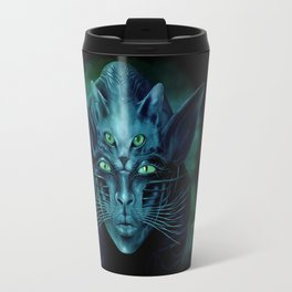 Cat People Travel Mug