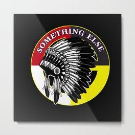 Something else 2020 election Native american Indig Metal Print
