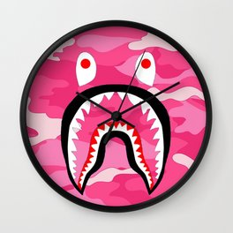 Bape jake paul Wall Clock