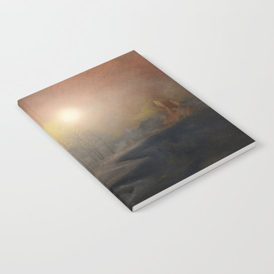 Calling The Sun IX Notebook