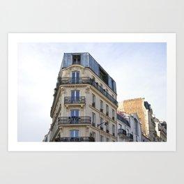 Living in Paris Art Print