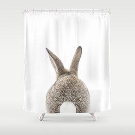 Bunny Tail Shower Curtain