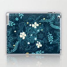 Dark floral delight Laptop & iPad Skin