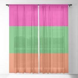 Rainbow Moon Sheer Curtain