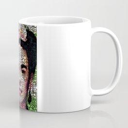 Frida Kahlo Art - Define Beauty Coffee Mug