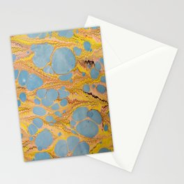 Fantasy Water Marbling Stationery Cards