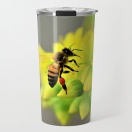 Busy Bee by Reay of Light Travel Mug