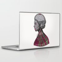 camouflage Laptop & iPad Skins featuring Camouflage  by Luna Portnoi
