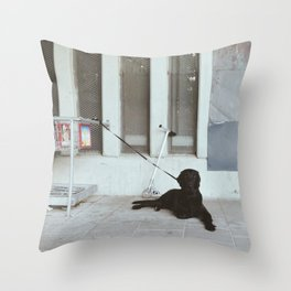 No. 8 Throw Pillow