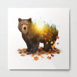 Equinox | Bear Metal Print