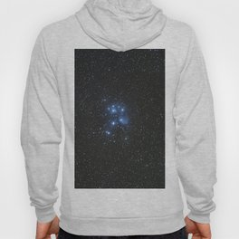 Peiades star cluster and a Orionid Meteor Hoody