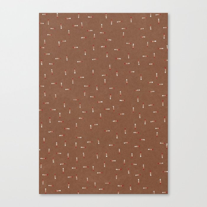 Canvas Dot Line Design Canvas Print
