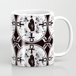 Ankh Anubis Alchemy Coffee Mug