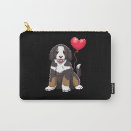 Bernedoodle Dog Gift Idea Carry-All Pouch