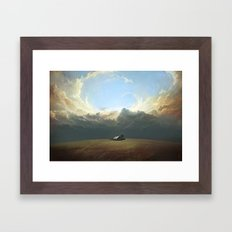 At World's End Framed Art Print