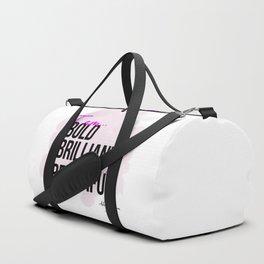 BBB (Bold, Brilliant, & Beautiful) Duffle Bag