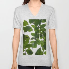 Tree and light Unisex V-Neck