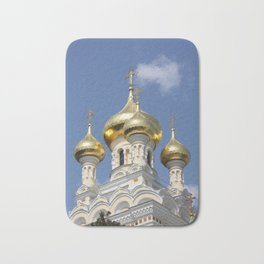 Onion Domes Alexander Nevsky Cathedral Bath Mat
