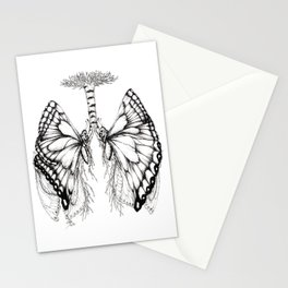 Butterfly Lungs Stationery Cards