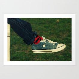 Best Foot Forward Art Print