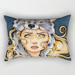 I Want You Safe Rectangular Pillow