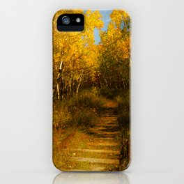 Old Spur Line iPhone Case