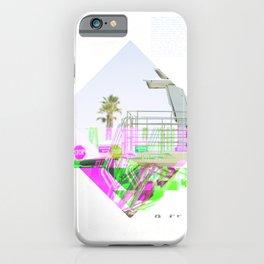 GLITCH NATURE #115: Oceanside iPhone Case