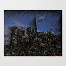 Hurricane wind Canvas Print