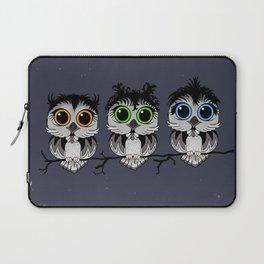 Three Little Owls Laptop Sleeve