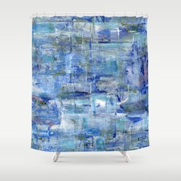 Blue Bay Shower Curtain