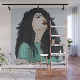 A Cold Breeze Wall Mural