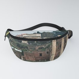 Monuments Roman Forum Colosseum of Rome Temple Italy Fanny Pack