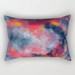Abstract Texture Digital Painting Rectangular Pillow