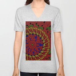 Colorandblack serie 64 Unisex V-Neck