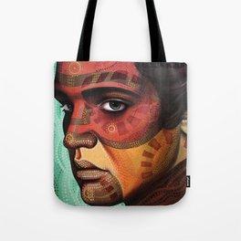 Aaron, inspired by Elvis Tote Bag