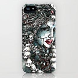 Goddess Kali 1 iPhone Case