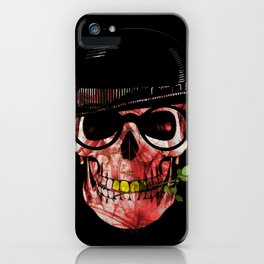 Gypsy skull iPhone Case