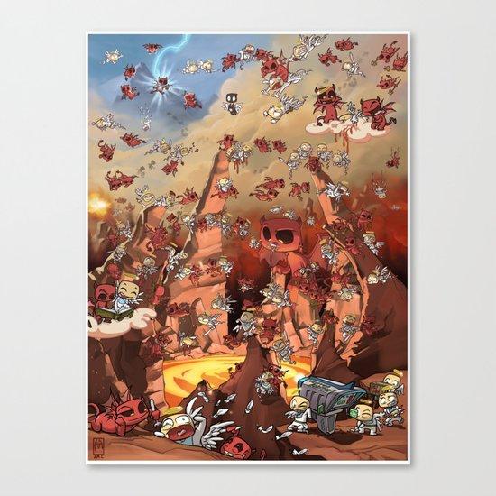 Heaven Melee Canvas Print