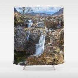 Glencoe Falls Shower Curtain