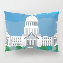 Boise, Idaho - Skyline Illustration by Loose Petals Pillow Sham