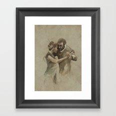 [La dance] Framed Art Print