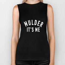 Crewneck Mulder It's Me Long Sleeve Files Sweatshirt supernatural Biker Tank