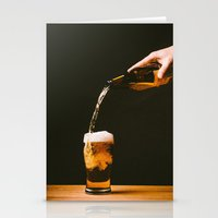 beer Stationery Cards featuring Beer by Floyd Triangle